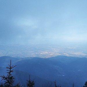 Milan Meravy na vrcholu Lysá hora (23.11.2019 1:45)