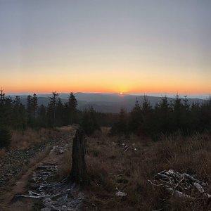 PePa na vrcholu Lysá hora (24.11.2019 7:11)