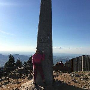 Veronika Pastorková na vrcholu Lysá hora (21.4.2018 17:39)
