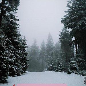Pavla Mitrengová na vrcholu Lysá hora (12.1.2018 0:00)