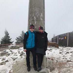 PePa na vrcholu Lysá hora (12.12.2019 8:50)