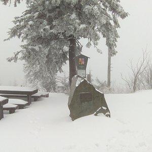 Milan Meravy na vrcholu Lysá hora (24.12.2019 14:22)