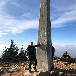 Jiří Šrámek na vrcholu Lysá hora (28.10.2019 14:05)
