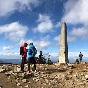 Jiří Šrámek na vrcholu Lysá hora (18.10.2019 11:37)