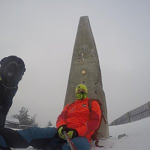 Pvlzck na vrcholu Lysá hora (16.1.2018 0:00)