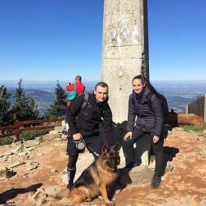 Jiří Tkáč na vrcholu Lysá hora (22.9.2019 12:00)