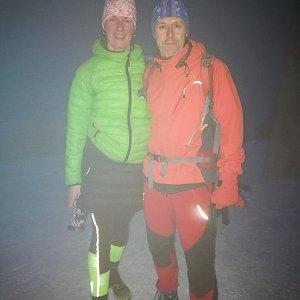 Petra Kosarkova na vrcholu Lysá hora (31.12.2019 16:29)