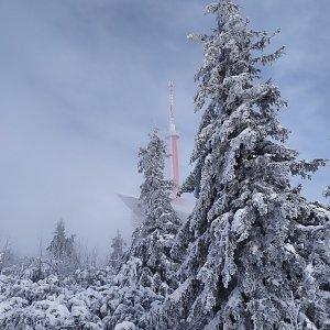ŠenovKK na vrcholu Lysá hora (1.1.2020 12:56)