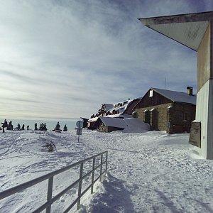 Milan Meravy na vrcholu Lysá hora (2.1.2020 13:26)