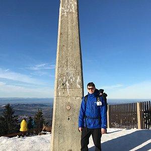 Bronislav na vrcholu Lysá hora (2.1.2020 12:00)