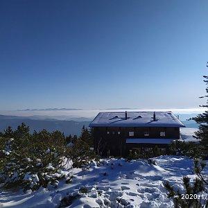 ŠenovKK na vrcholu Lysá hora (3.1.2020 15:06)