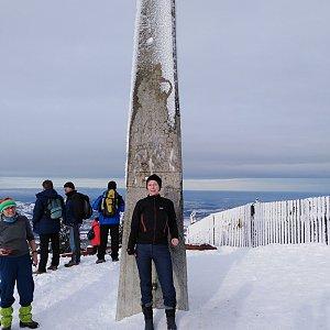 Joan na vrcholu Lysá hora (30.12.2019 10:45)