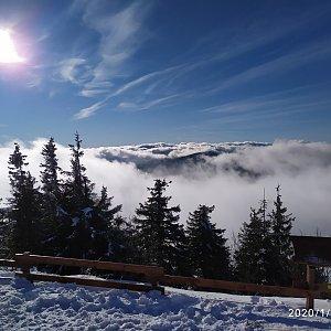 ŠenovKK na vrcholu Lysá hora (8.1.2020 13:08)