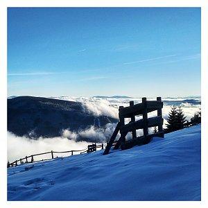 Dobros na vrcholu Lysá hora (12.1.2020 9:30)