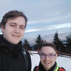 Pavel P. na vrcholu Lysá hora (10.1.2020 11:42)