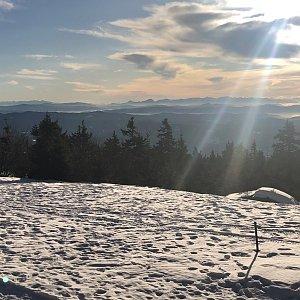 RŠind na vrcholu Lysá hora (17.1.2020 12:47)
