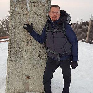 Martin Kocián na vrcholu Lysá hora (17.1.2020 16:14)