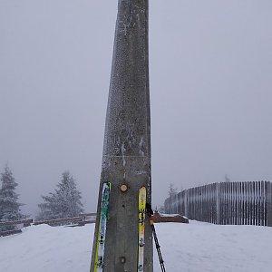 ŠenovKK na vrcholu Lysá hora (19.1.2020 13:15)