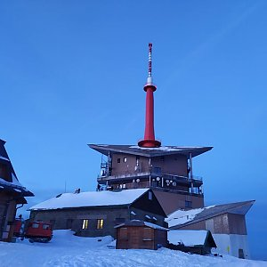 Miroslav Šlíwa na vrcholu Lysá hora (3.1.2020 16:10)
