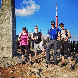 Lukáš Vaculík na vrcholu Lysá hora (29.4.2018 12:00)