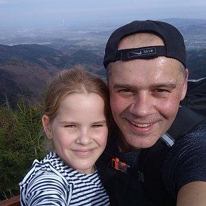 Roman Tigge na vrcholu Lysá hora (19.10.2019 12:14)