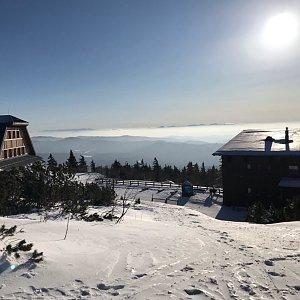 PePa na vrcholu Lysá hora (24.1.2020 9:53)