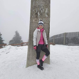 Reny na vrcholu Lysá hora (11.1.2020 11:00)