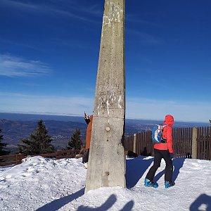 OndraCz na vrcholu Lysá hora (12.1.2020 20:52)