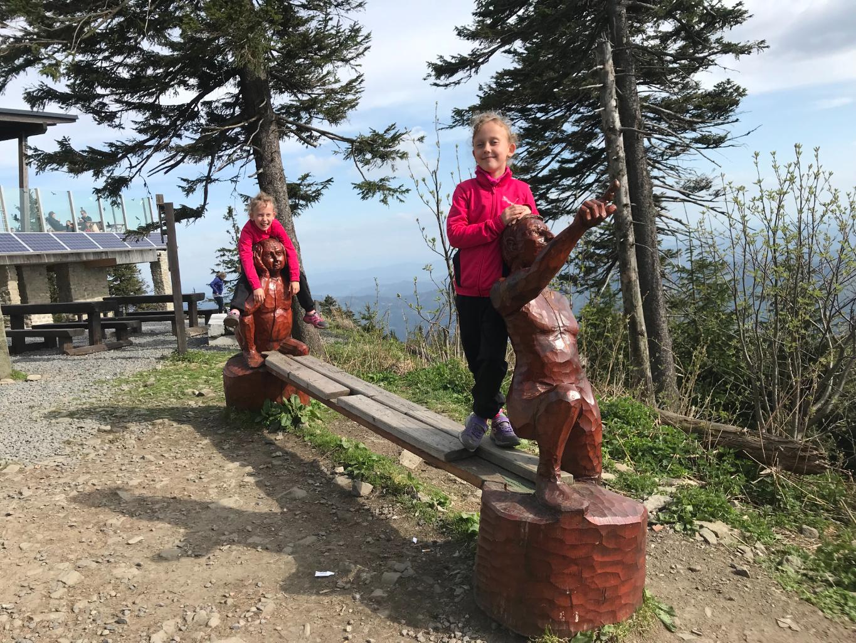 Barbora Dreslerová na vrcholu Lysá hora (28.4.2018 15:13)