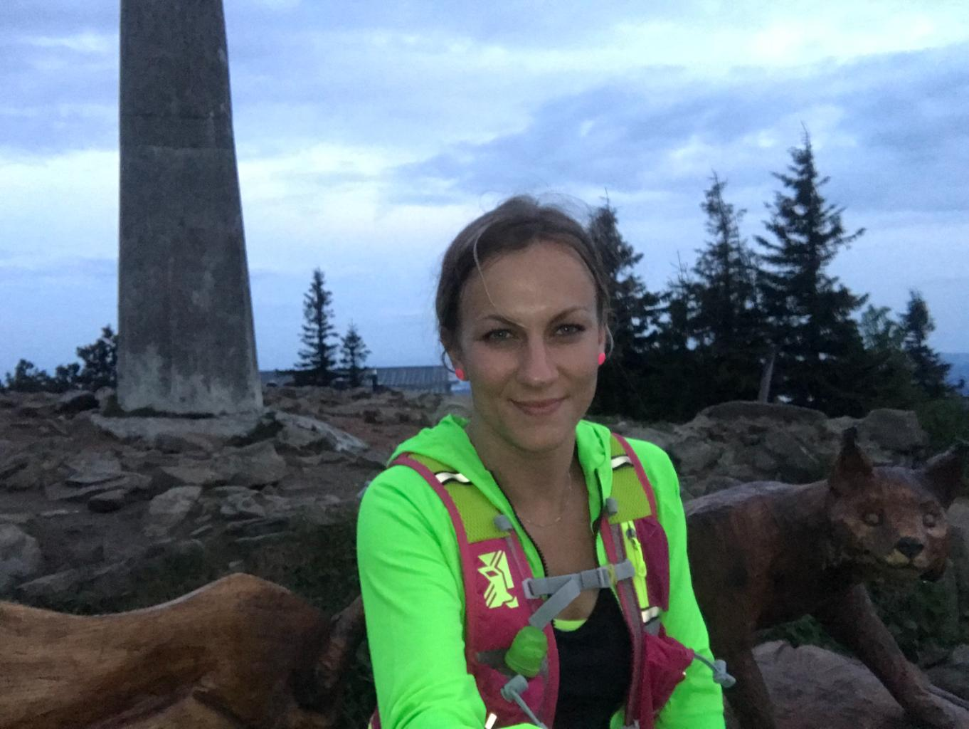 Barbora Dreslerová na vrcholu Lysá hora (11.5.2018 20:05)
