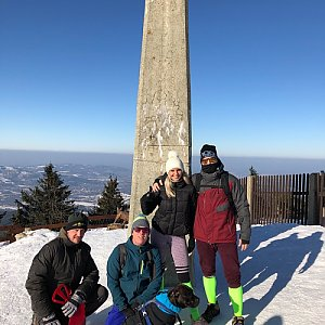 cadic na vrcholu Lysá hora (24.1.2020 12:01)