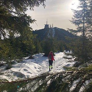 Jiří Šrámek na vrcholu Lysá hora (26.1.2020 13:27)