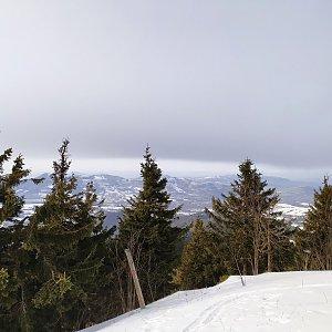 Milan Meravy na vrcholu Lysá hora (27.1.2020 13:00)