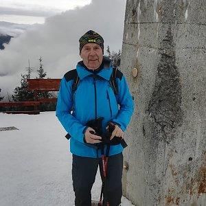 MUDr.Svatopluk Kunčar na vrcholu Lysá hora (28.1.2020 12:44)