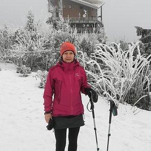 MUDr.Svatopluk Kunčar na vrcholu Lysá hora (29.1.2020 12:26)