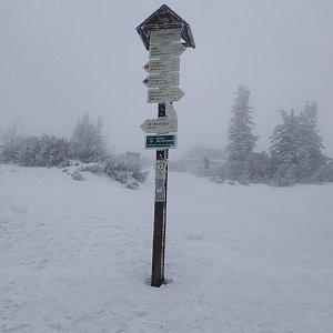 ŠenovKK na vrcholu Lysá hora (29.1.2020 14:36)