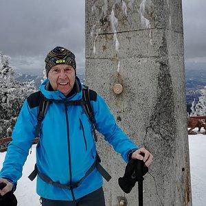 MUDr.Svatopluk Kunčar na vrcholu Lysá hora (30.1.2020 11:36)