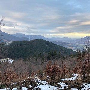 RŠind na vrcholu Lysá hora (2.2.2020 19:23)