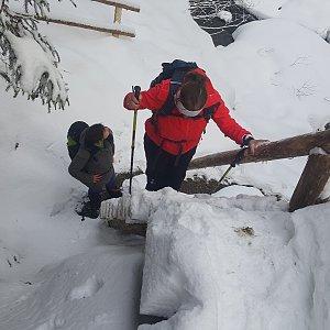 Iveta Steinerová na vrcholu Lysá hora (16.12.2017 10:16)
