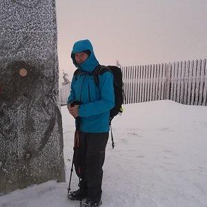 MUDr.Svatopluk Kunčar na vrcholu Lysá hora (5.2.2020 17:02)