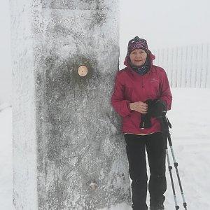 MUDr.Svatopluk Kunčar na vrcholu Lysá hora (7.2.2020 12:27)