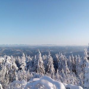 Milan Meravy na vrcholu Lysá hora (8.2.2020 16:49)