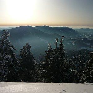 Lenka Valoušková na vrcholu Lysá hora (8.2.2020 15:18)