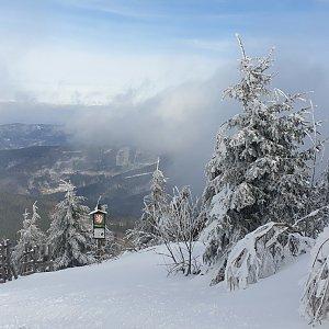 Martaska na vrcholu Lysá hora (15.2.2020 11:17)