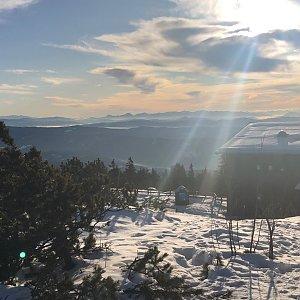 RŠind na vrcholu Lysá hora (2.2.2020 10:35)