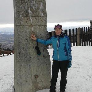 MUDr.Svatopluk Kunčar na vrcholu Lysá hora (18.2.2020 12:09)