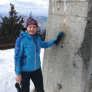 MUDr.Svatopluk Kunčar na vrcholu Lysá hora (19.2.2020 12:13)