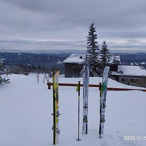ŠenovKK na vrcholu Lysá hora (22.2.2020 11:06)