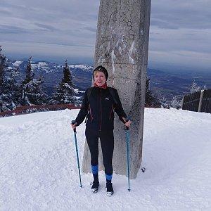 Joan na vrcholu Lysá hora (22.2.2020 12:00)