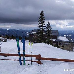 ŠenovKK na vrcholu Lysá hora (1.3.2020 12:34)